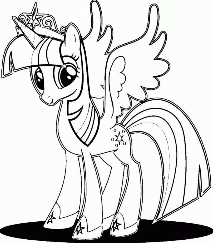 Twilight Sparkle Coloring Pages Best Coloring Pages For Kids My Little Pony Coloring Cartoon Coloring Pages Fairy Coloring Pages