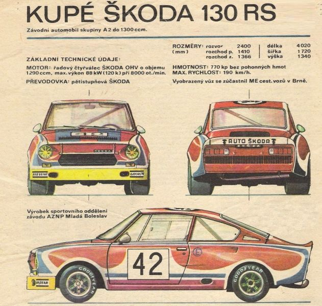 skoda 130 rs aut k pinterest cars le mans and rally. Black Bedroom Furniture Sets. Home Design Ideas