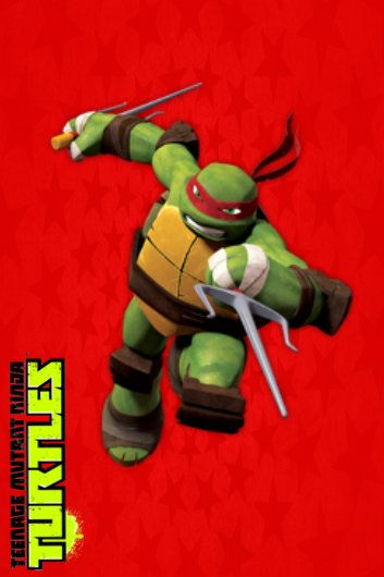 Tmnt Iphone Ipod Touch Wallpaper Raph Tmnt Tmnt Wallpaper Ninja Turtles