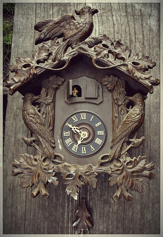 Unusual Cuckoo Clocks unusual large black forest cuckoo clock | large, black forest and by
