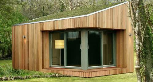 Habitaci n prefabricada para el jard n arquitectura - Casetas prefabricadas jardin ...
