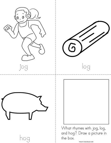 Color the Rhyming Sight Words III | Sight words, English ... | 605x468