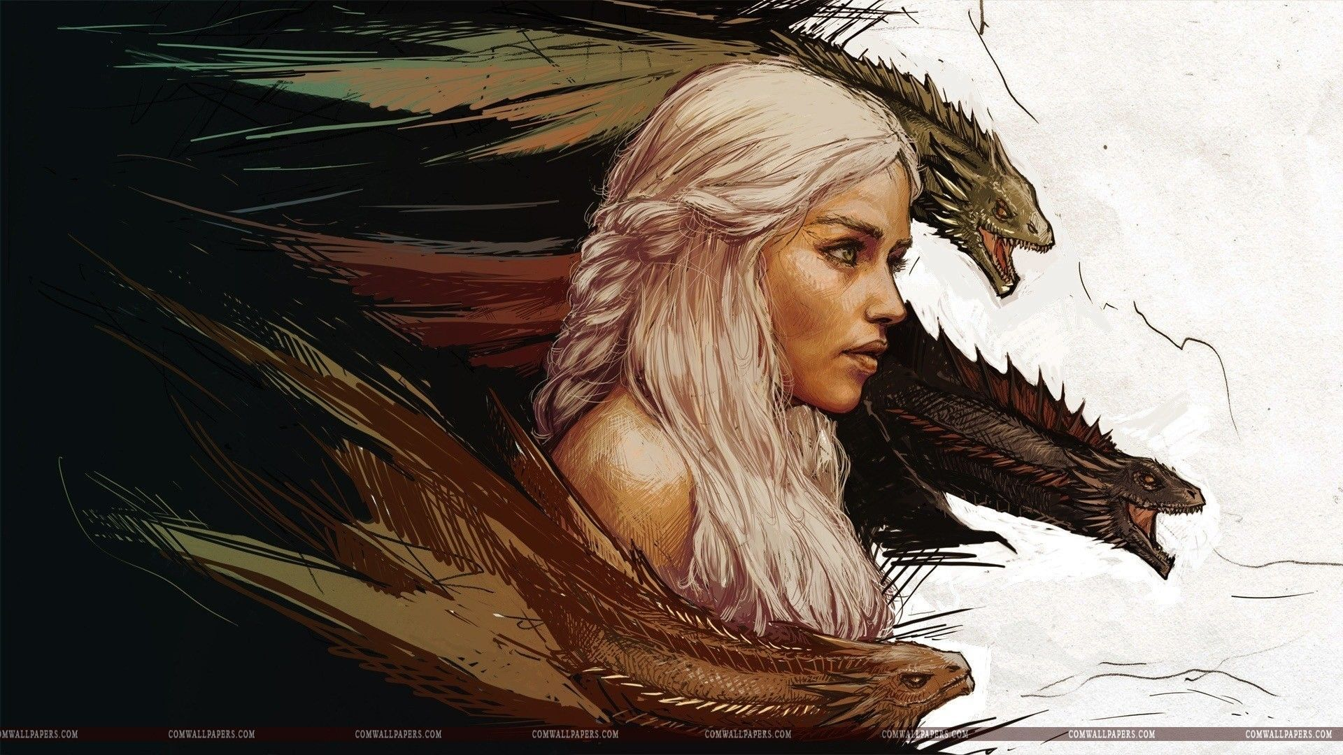 Daenerys targaryen and khal drogo wallpaper daenerys targaryen wedding - Daenerys Targaryen Hd Wallpaper