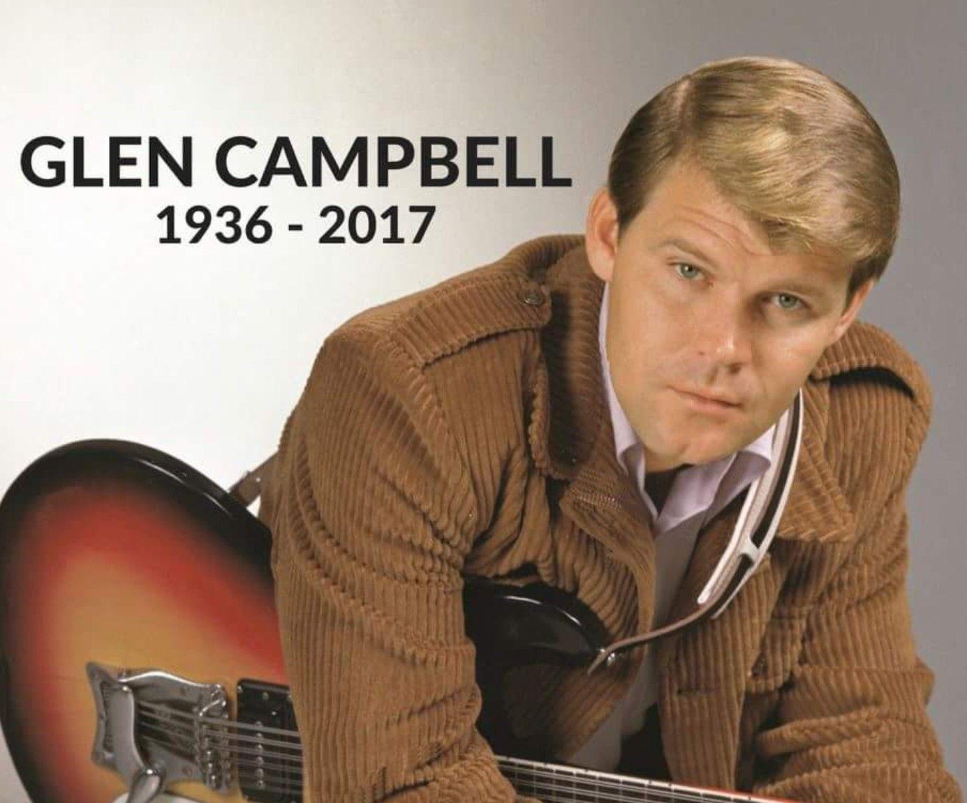 RIP Rhinestone Cowboy😢 Glen campbell, Campbell, Music