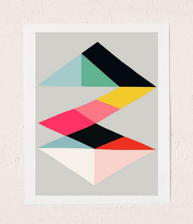 17 Way Cool Wall Art Prints Under $25 via Brit + Co