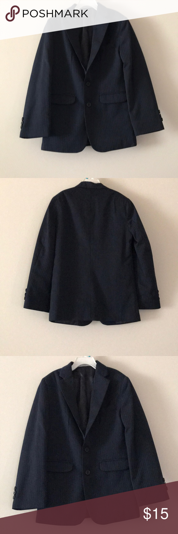 64ccb67ea8dd Perry Ellis Boys Blazer Perry Ellis Boys Navy Blue