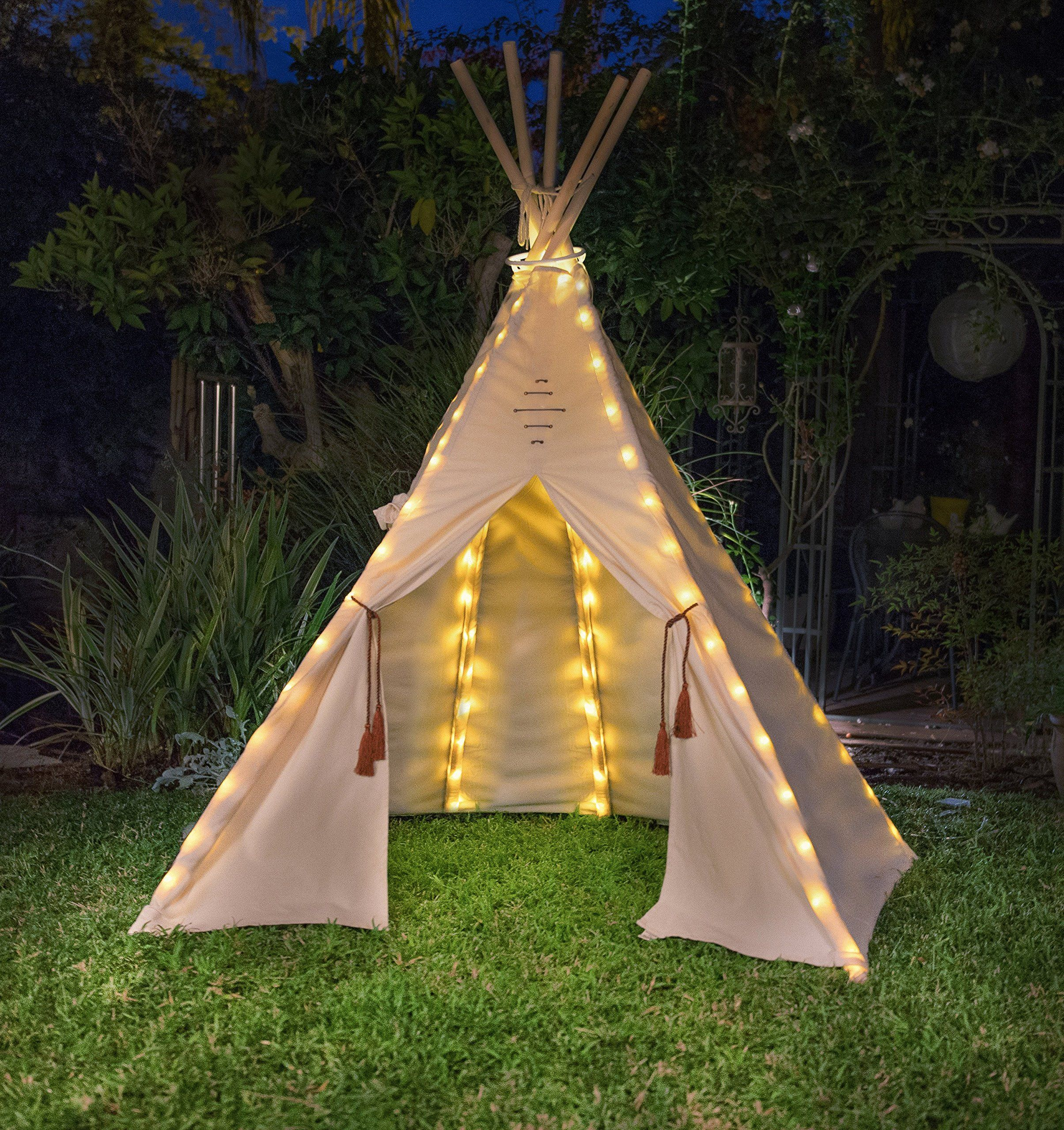 Fairy Lights For Teepee Tents Battery Operated Set Of 75 Bright