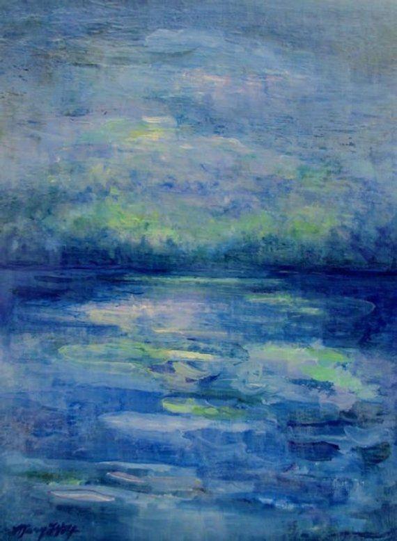 Original Impressionist Landscape Painting- Canvas Wall Art