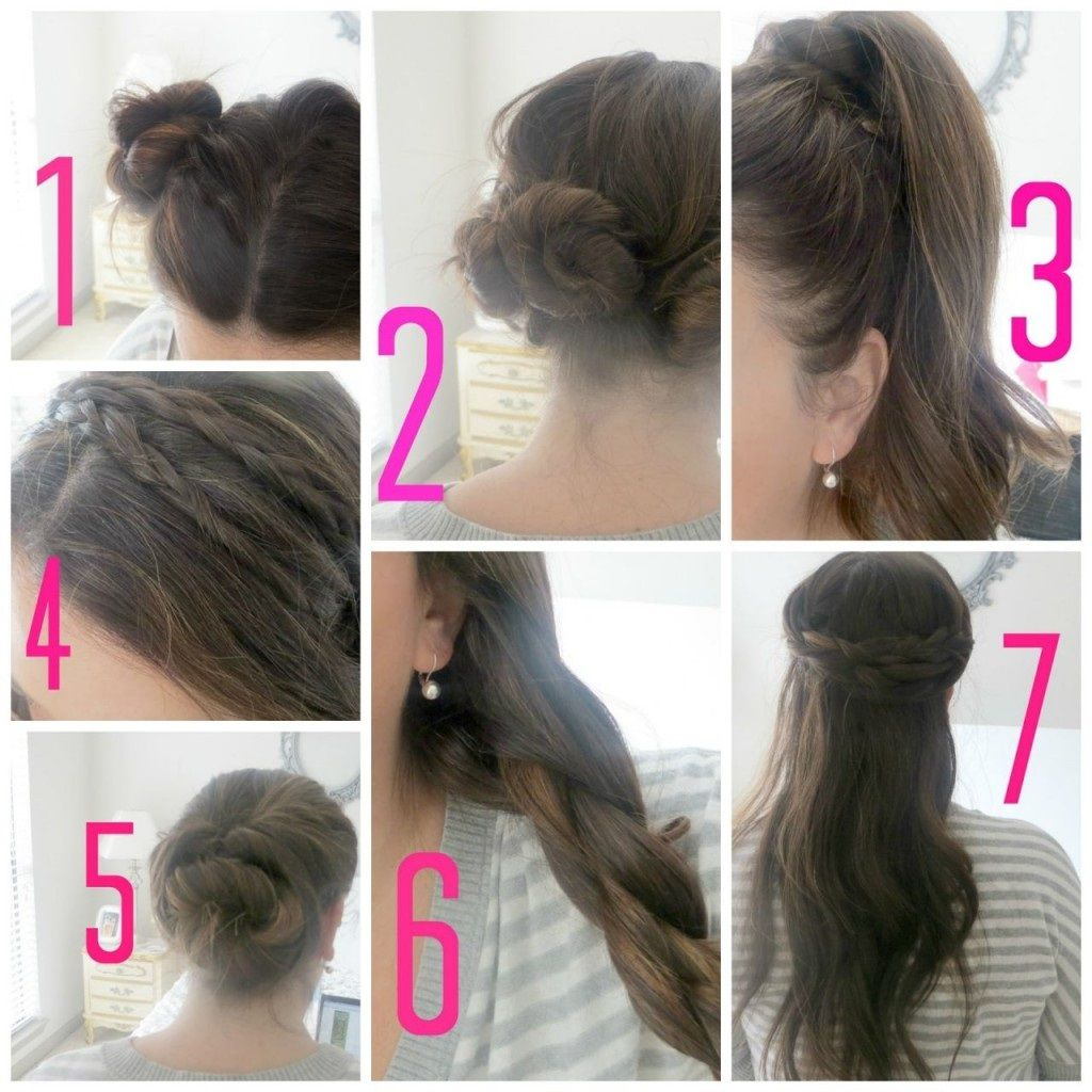 easy hairstyles for medium hair for school step by step easy hairstyles for school for step by step