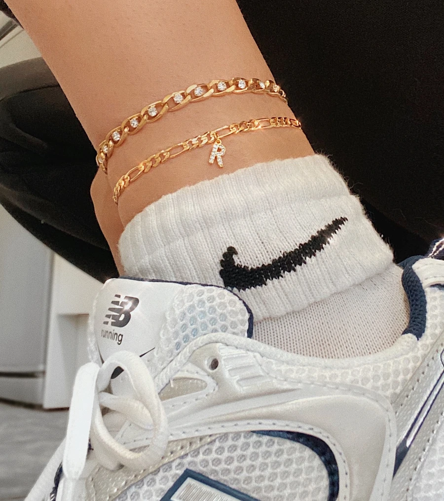 Photo of Initial Anklet