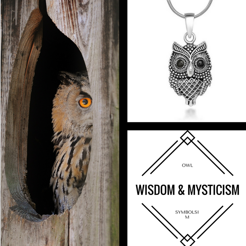 Owl Is The Symbol Of Wisdom And Mysticism Fashion And Jewelry