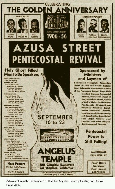 dc07b5ede52e Holy Ghost Filled Men To Be Speakers. (Los Angeles Times, September 15,  1956)