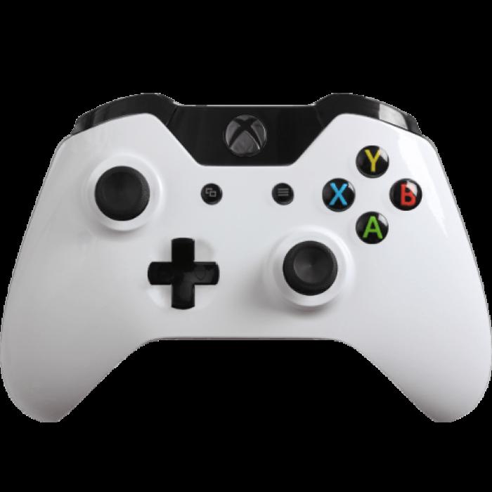 Xbox One Glossy White 3 Png 700 700 Custom Xbox One Controller Custom Xbox Xbox One Controller
