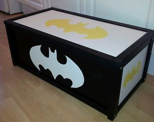 DIY BATMAN TOY BOX | Batman room, Batman baby room