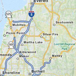 Map Of Bothell Wa Washington Hotels Restaurants Airports Mapquest