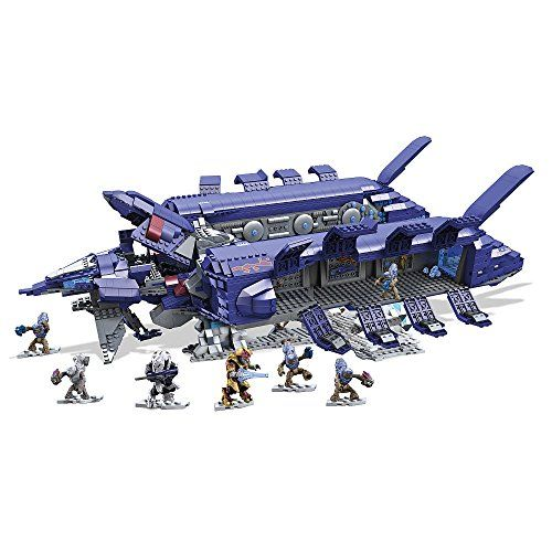 Mega Bloks Halo Covenant esprit Dropship Exclusive Set #31847
