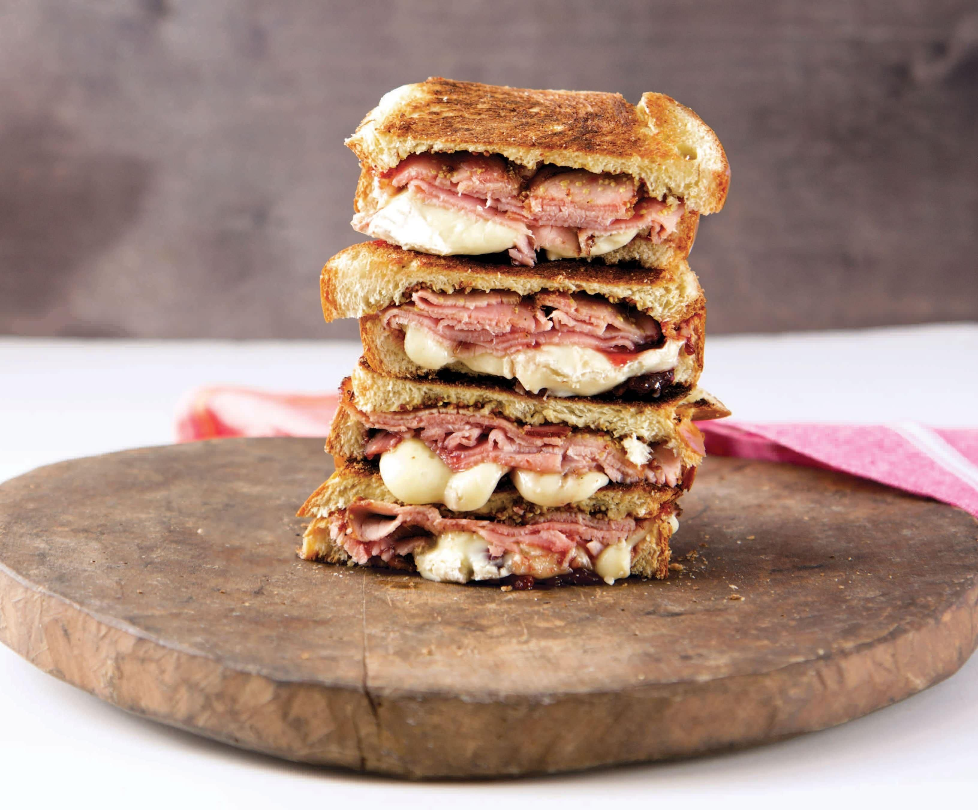 Joy the Baker's Breakfast Grilled Cheese Recipe Grilled