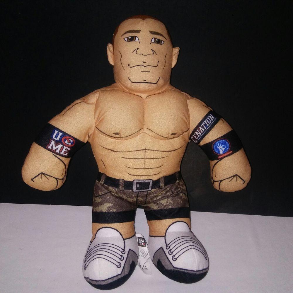 Mattel Wwe Brawlin Buddies John Cena