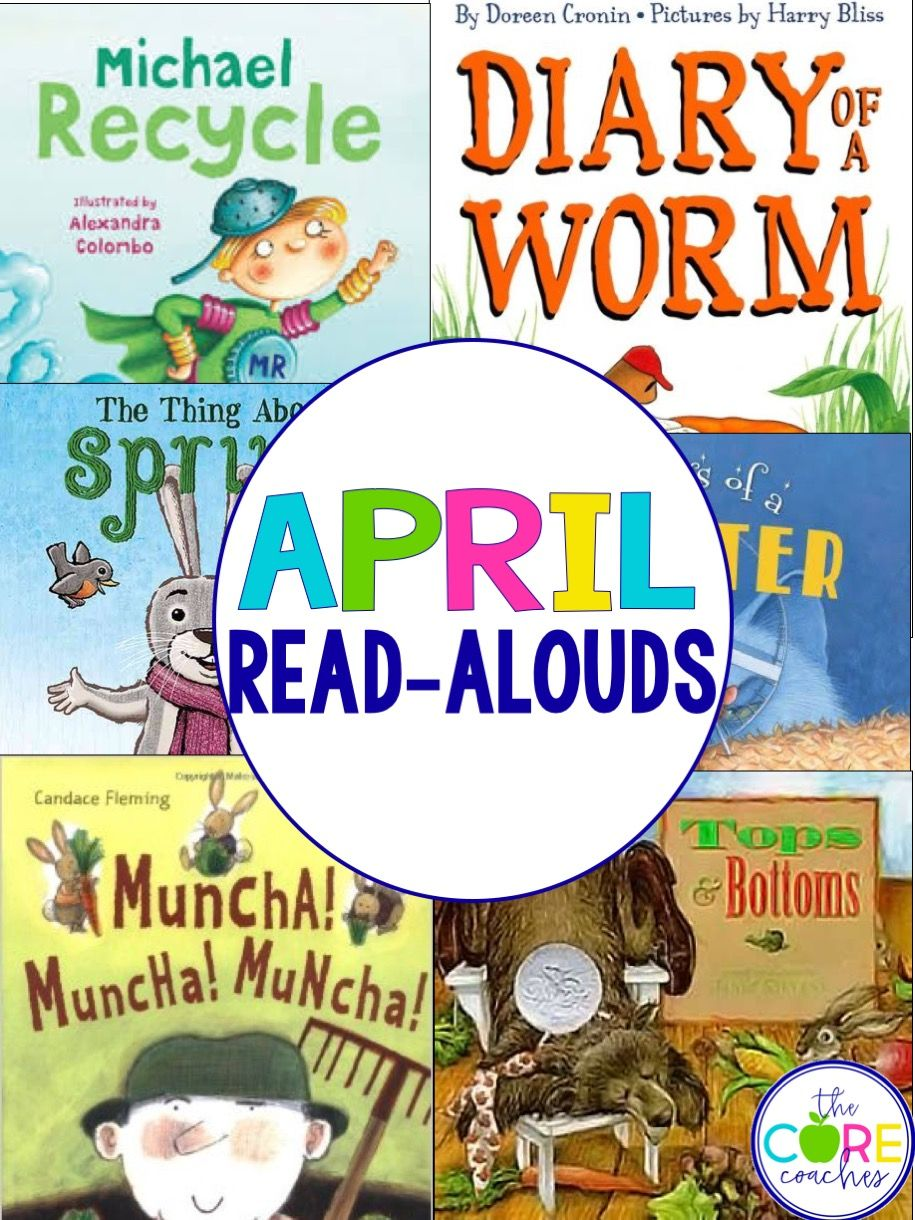 April read-alouds for first and second grade