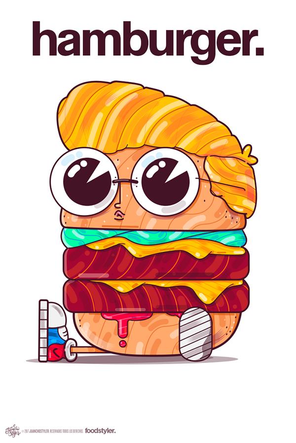FoodStyler. on Behance Logo design inspiration graphics