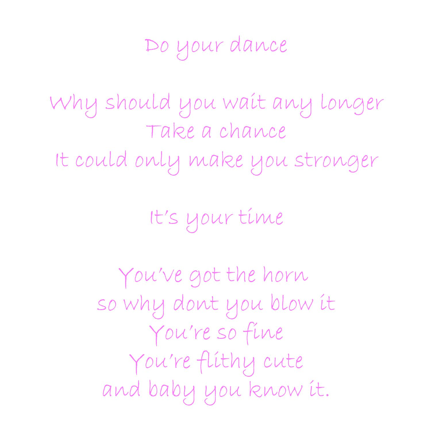 Prince sexy dancer lyrics