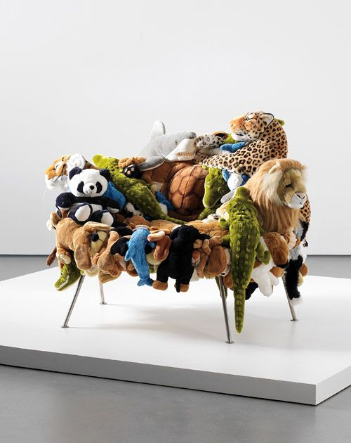The Campana Brothers Stuffed Animal Chairs   Great Idea For Kept Stuffies  The Kids Are Truly Too Old For..can Make U0027em Cool Again Being Surrounded By  ...