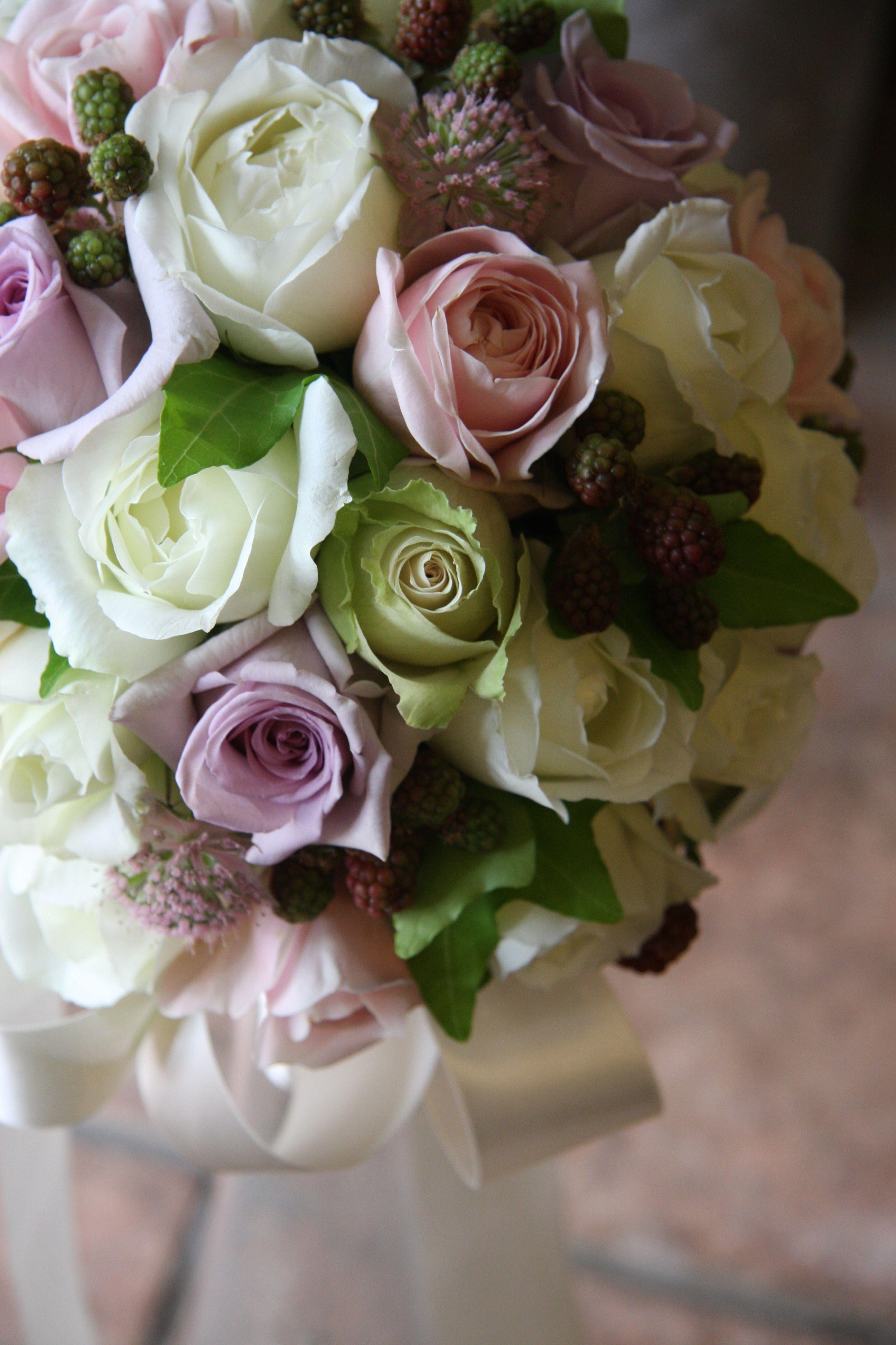 LOVE purple roses