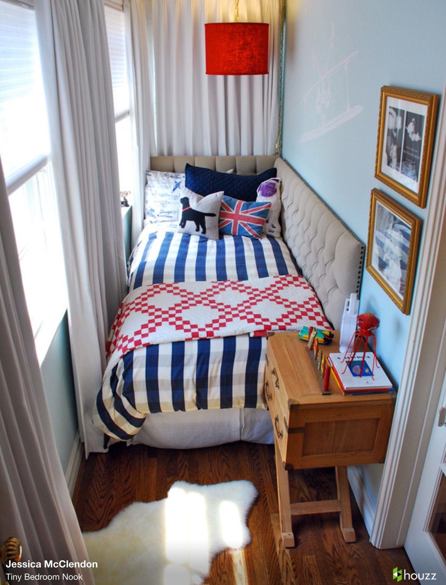 Master bedroom nook  Tiny Bedroom Nook  Cozy Bedrooms and Tiny houses