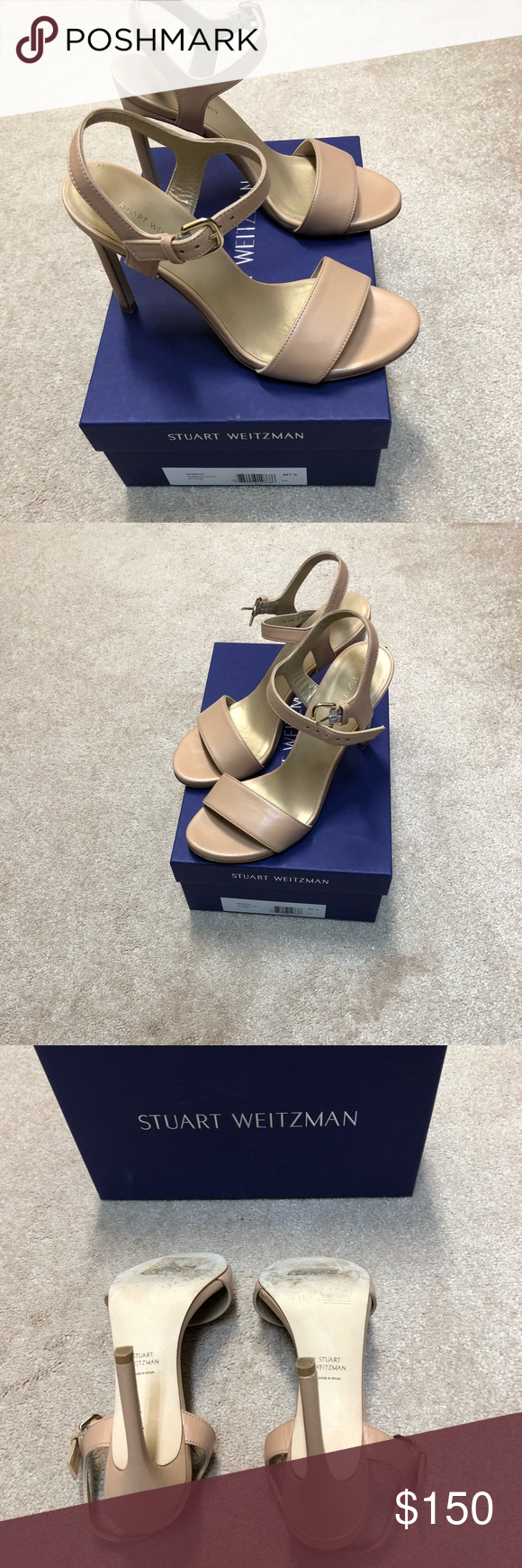 b4511bfd005 Stuart Weitzman Aperitif Stilettos Gorgeous SW Aperitif Nude Stilettos in size  7.5. Excellent condition