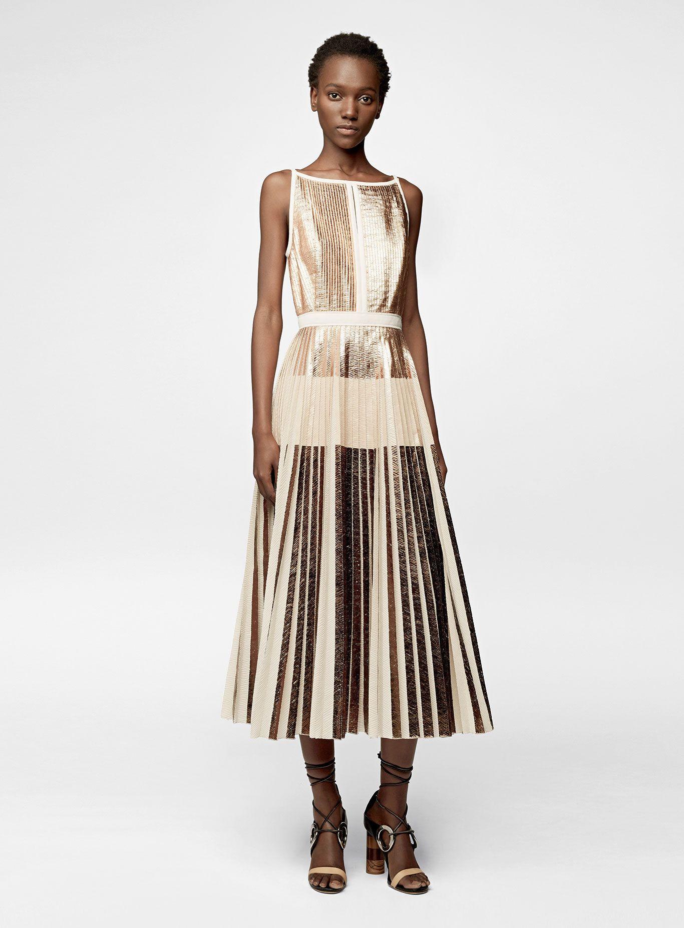 Proenza schouler sleeveless long dress high fashion pinterest