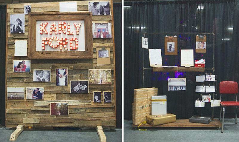 Trade Show Booth Edmonton : Bridal show booth for fantasy l edmonton