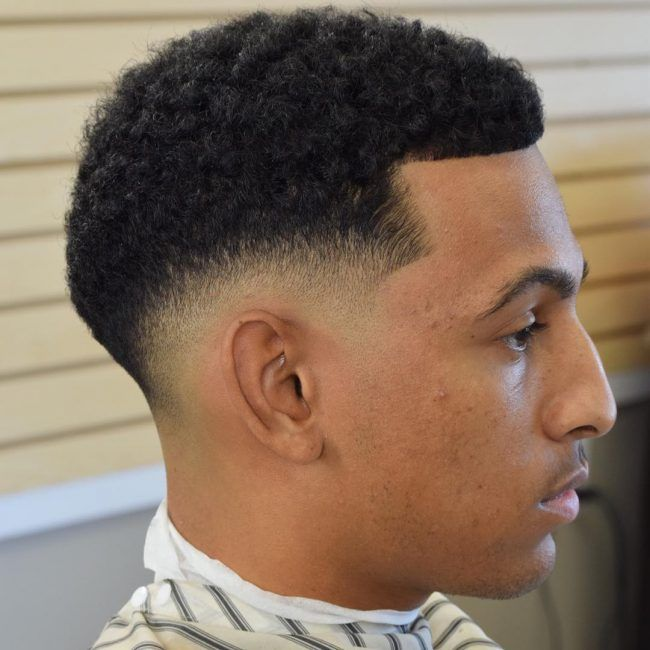 Taper Fade Afro Haircuts 77 Taper Fade Haircut Tapered Haircut Fade Haircut