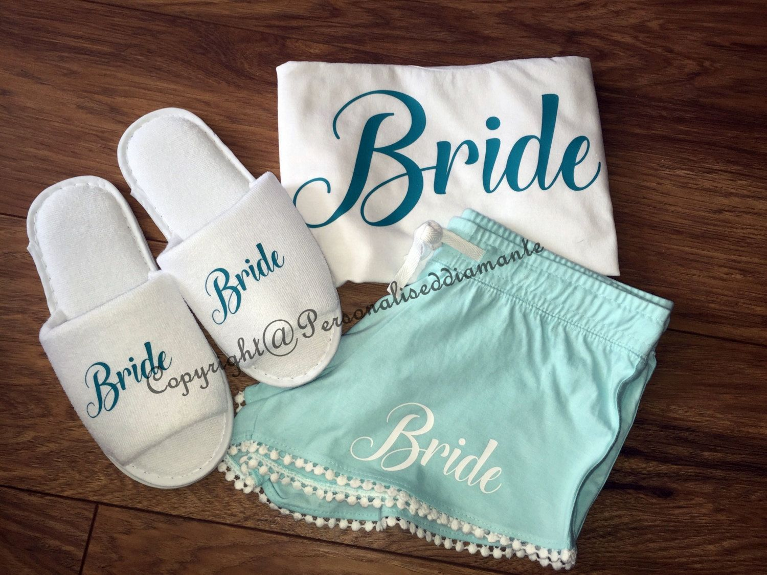 3bb0916ba5 Personalised Bridal Party Pyjama