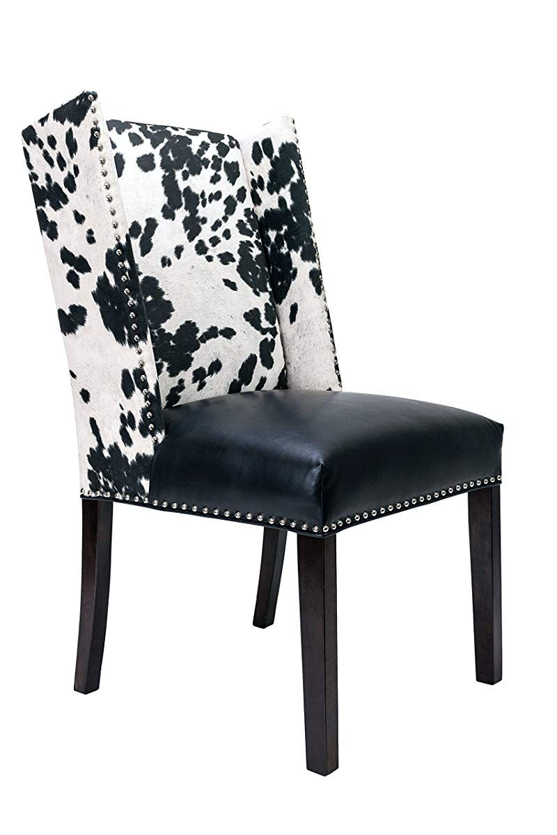 Sole Designs Rexford Faux Cowhide Leather and Fabric ...