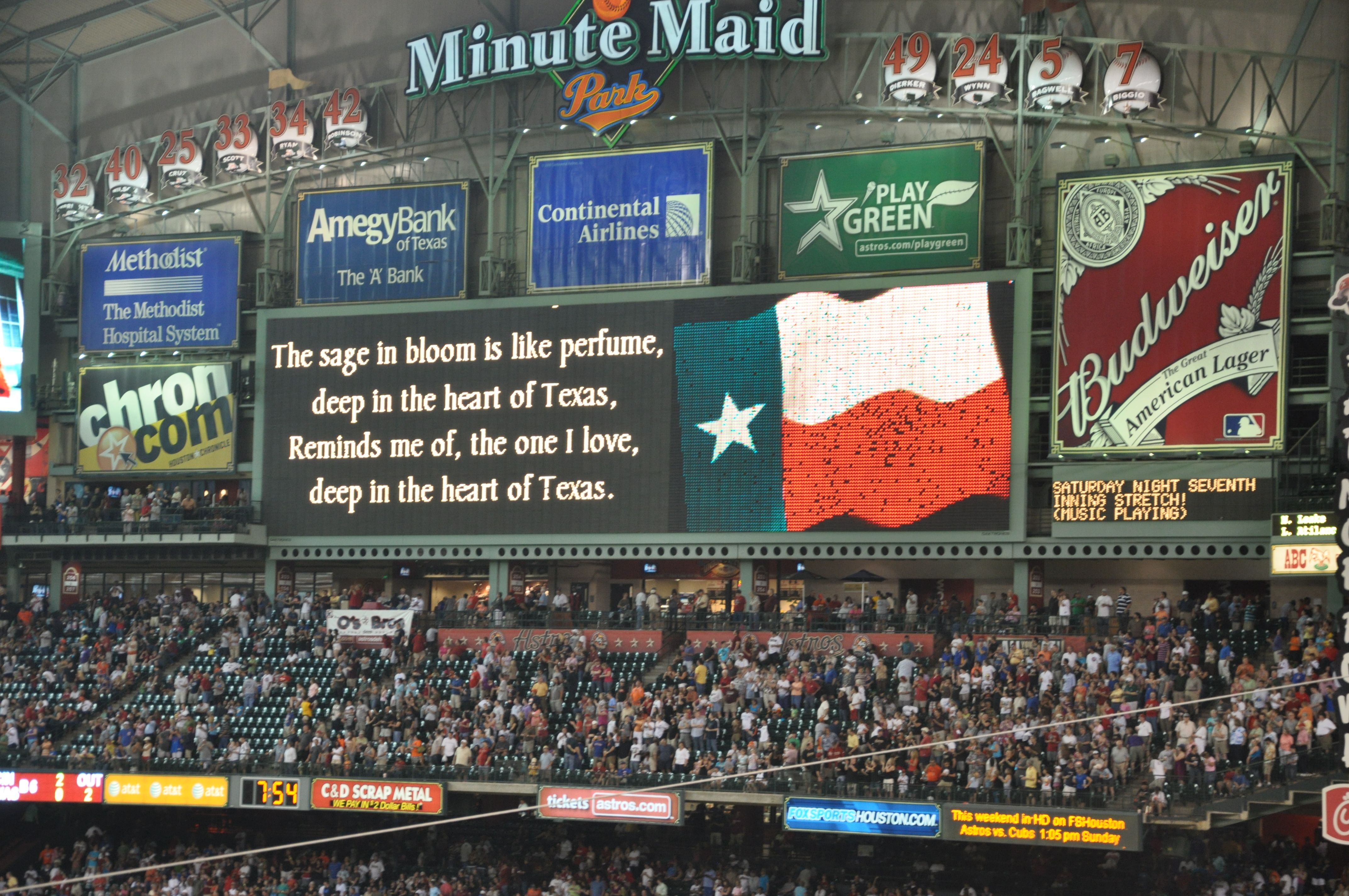 Minute Maid Park Home Of The Astros Used