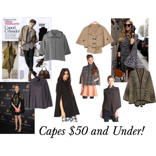 """Capes $50 and Under"" by Big Curls and Pearls blog"