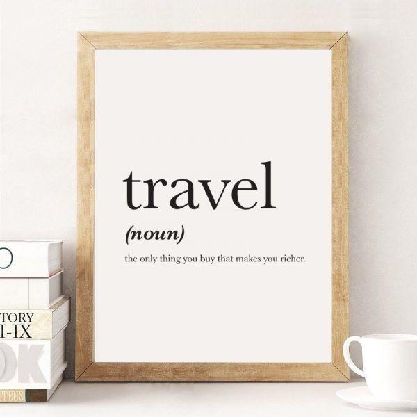 Home decor travel theme