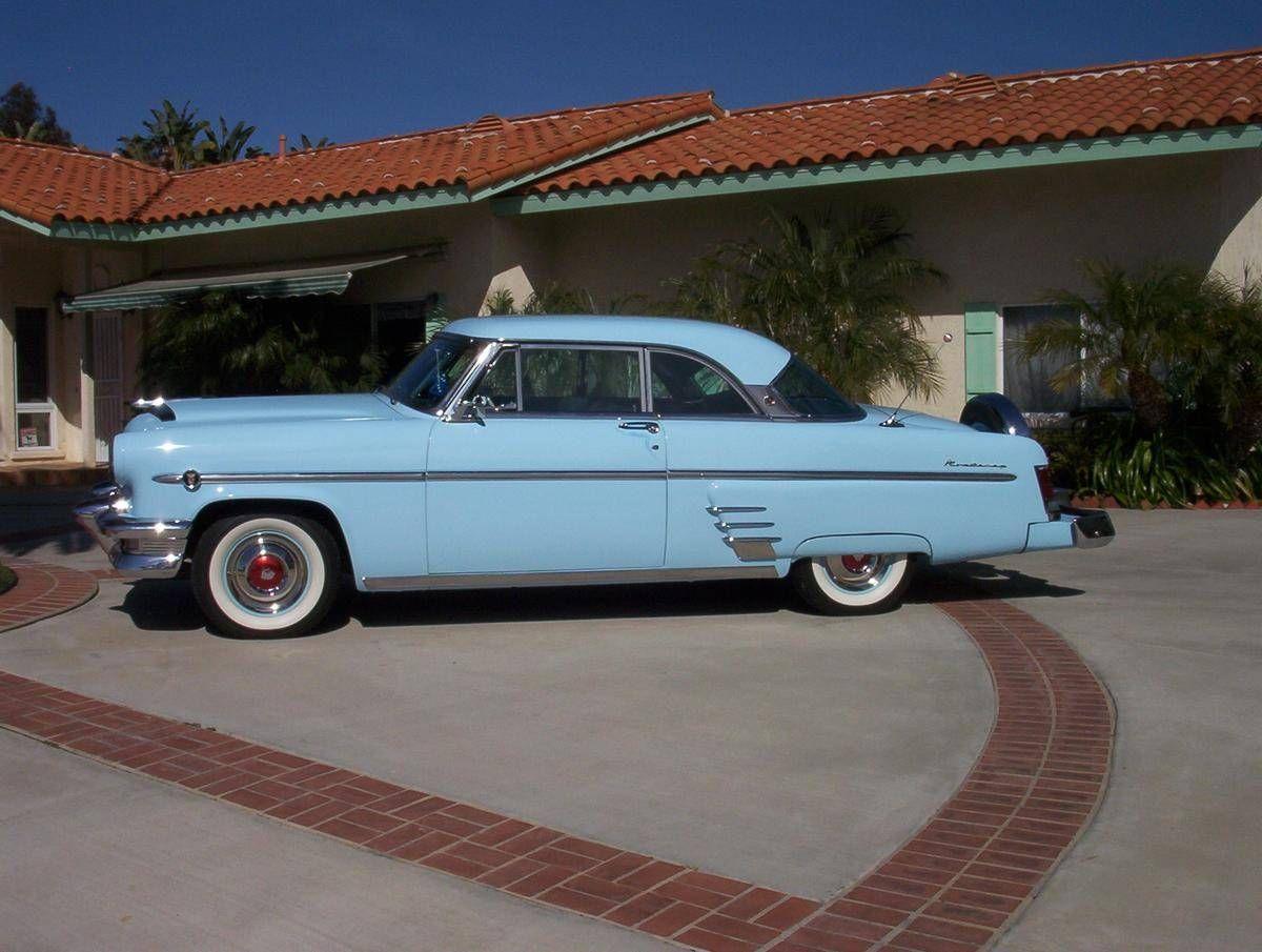 1954 mercury monterey 2 door hard top