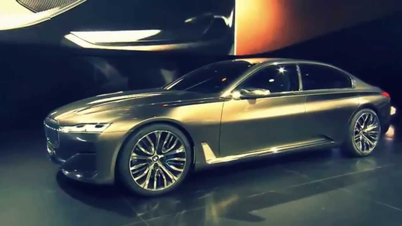 PREVIEW New 2016 BMW 7 Series Vision Future Luxury Concept Beijing Aut