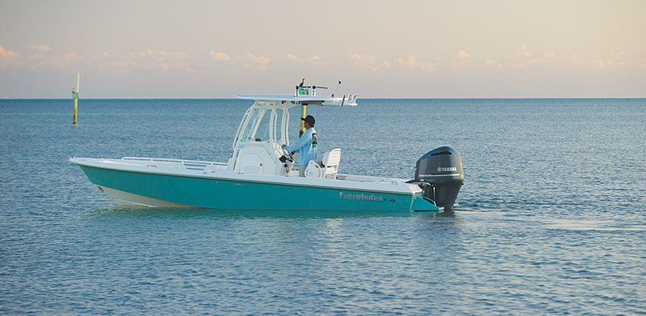 24' Everglades dream boat Everglades boats, Bay boats