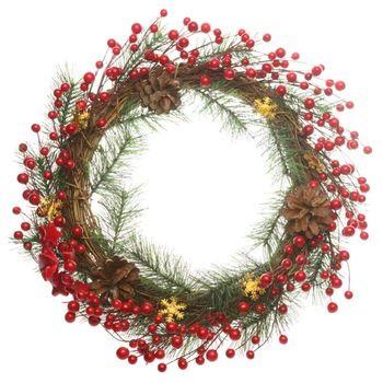 Nova chegada Artificial grinaldas de flores de decoração de natal guirlandas de decoração de natal enfeites