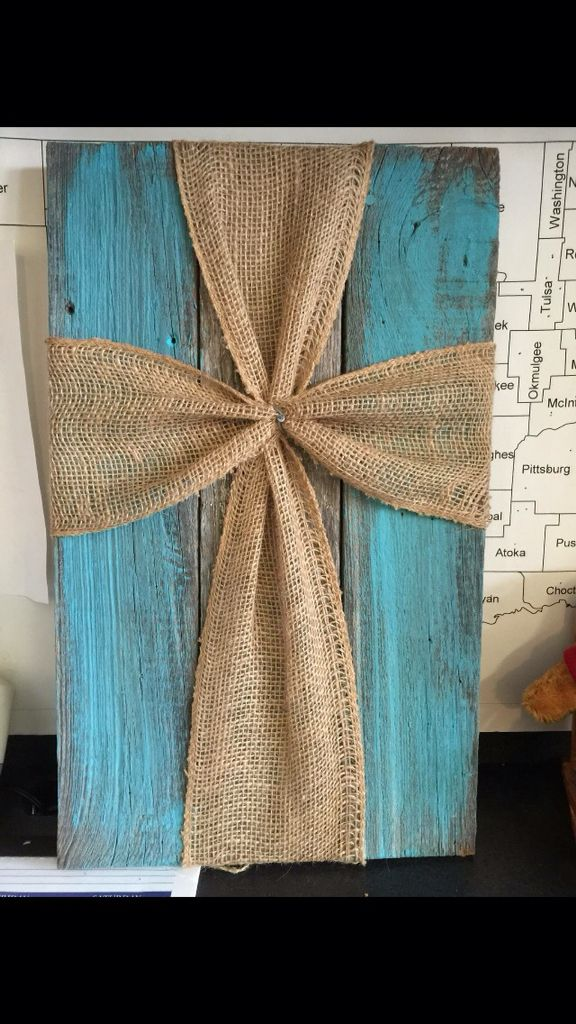 Pin by debbie crawford on crafts pinterest craft for Burlap ribbon craft ideas