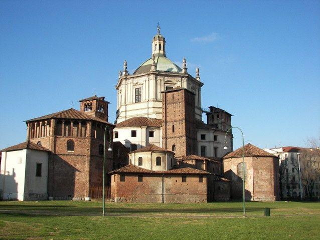 Basílica de San Lorenzo Maggiore en Milán | Milan, Italy ...