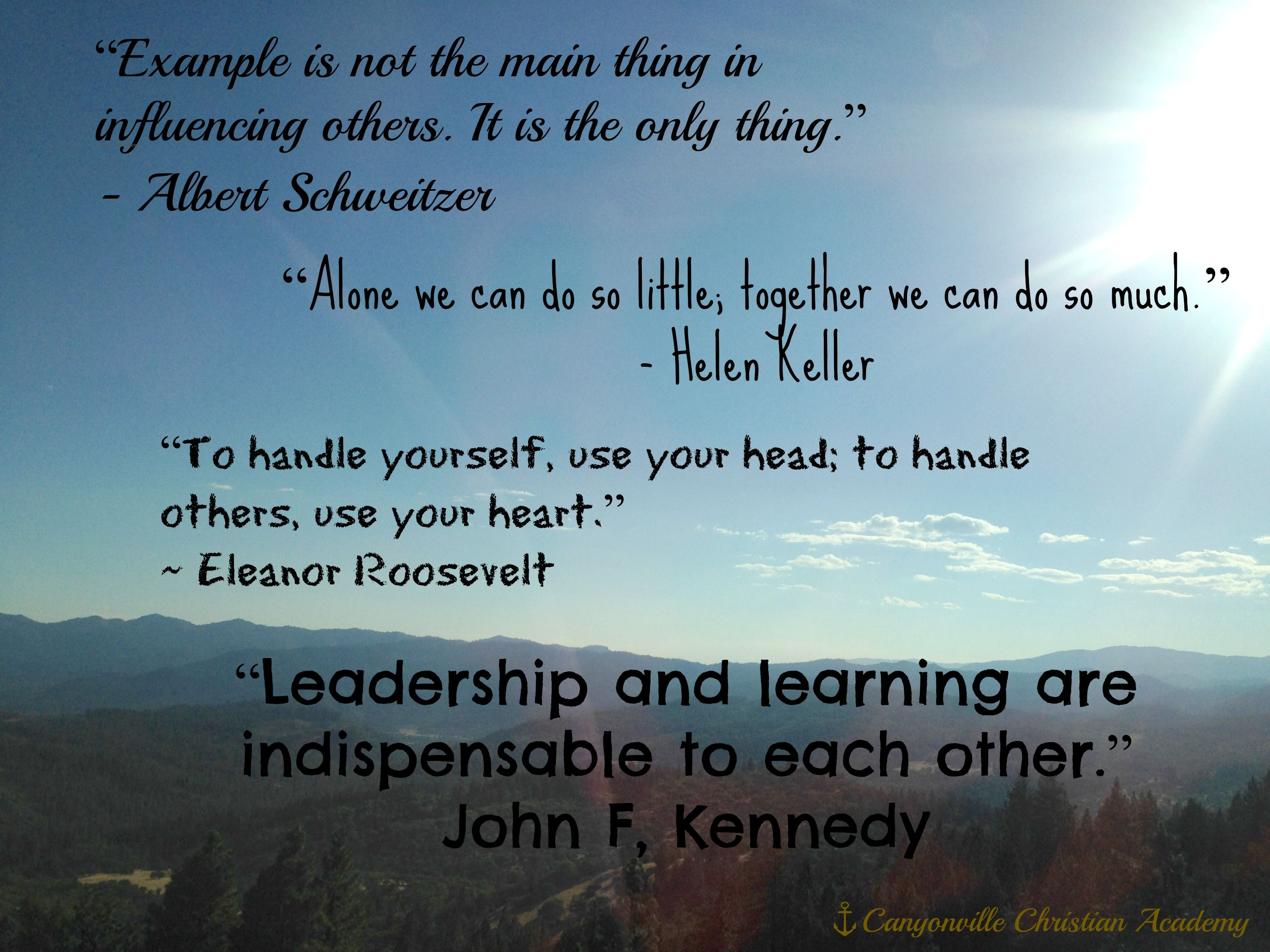 Inspirational, leadership quotes, student leaders