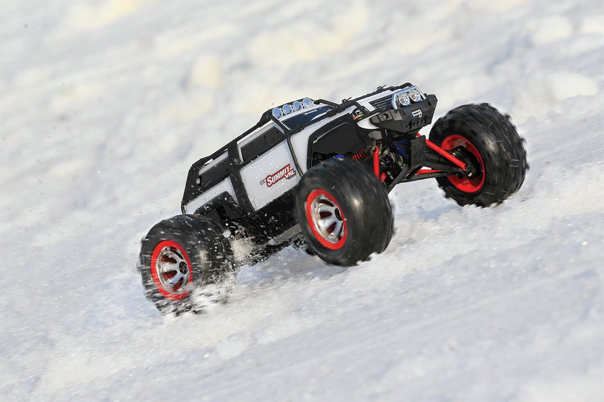 Summit VXL: 1/16-Scale 4WD Electric Extreme Terrain Monster Truck with TQ 2.4GHz radio system   Traxxas