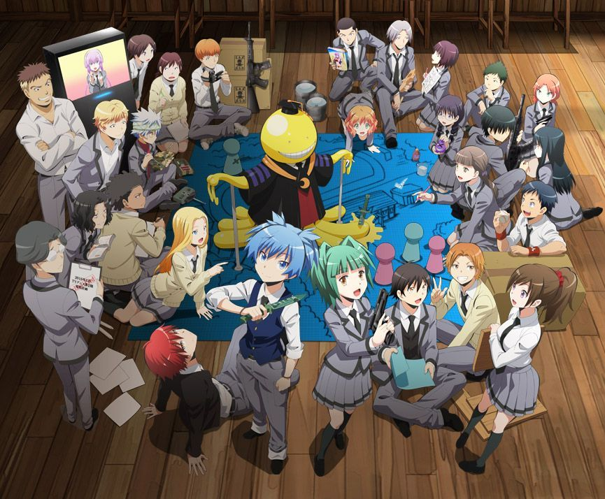 ASSASSINATION CLASSROOM 2e saison ASSASSINATION saison
