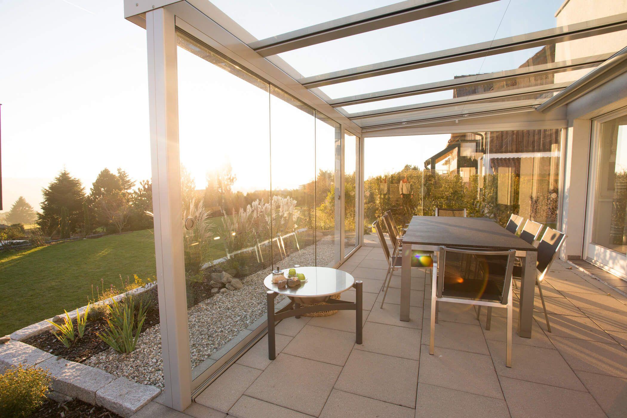 glasschiebeelemente f r terrasse in 2018 balkonverglasung terrassenverglasung pinterest. Black Bedroom Furniture Sets. Home Design Ideas
