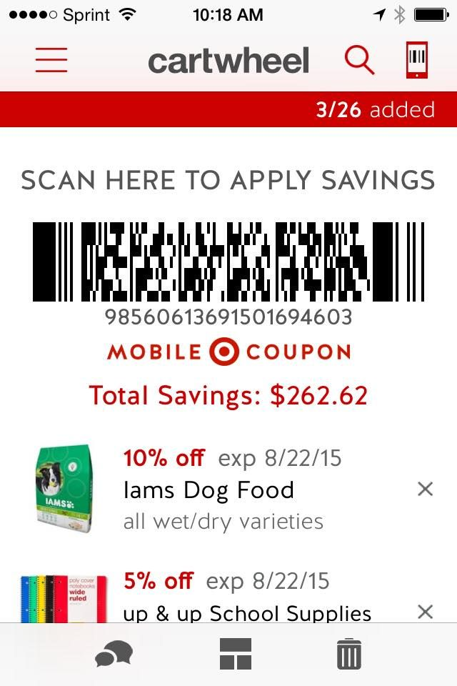 Target Discount Coupons: Cartwheel Edition - | Discount coupons ...