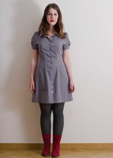 Deer Doe D0002 Bleuet Dress Sewing Pattern Sewing Dresses Clothing Patterns Dress Sewing Patterns