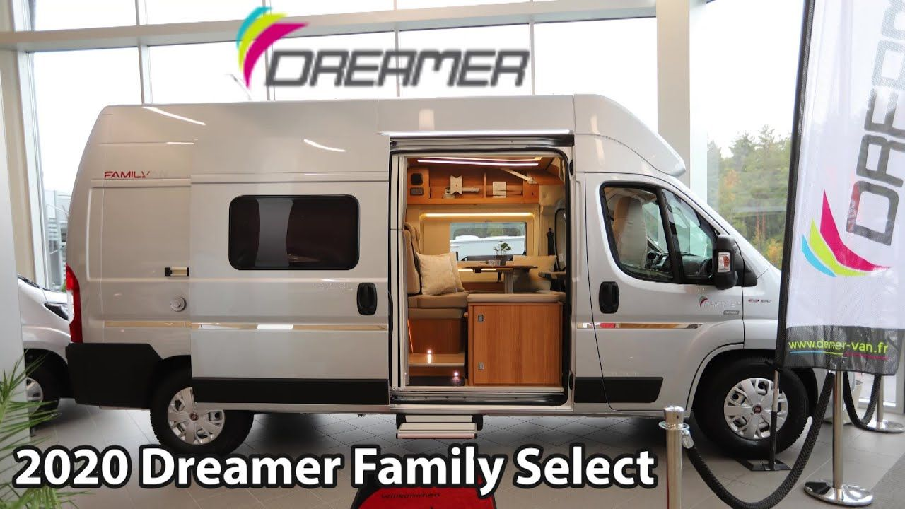 Dreamer Family Select 2020 Camper Van 6 M Youtube Camper Van The Dreamers Camper